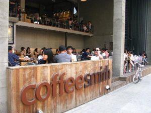 coffeesmithカロスキル店外観