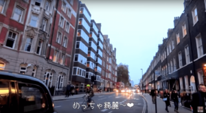 ロンドン_街並み