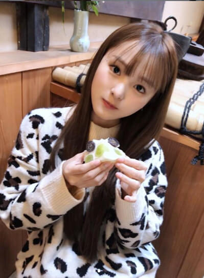 杏香_食べる