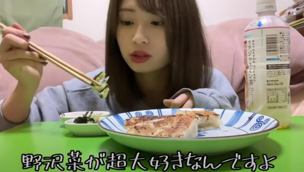 あきのはケロッと笑いたい_野沢菜